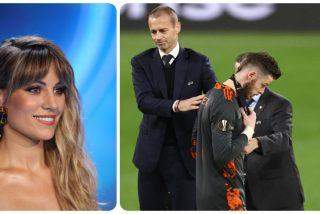 Edurne detiene a los trolls de Twitter que la culpan del fallo de De Gea ante el Villarreal