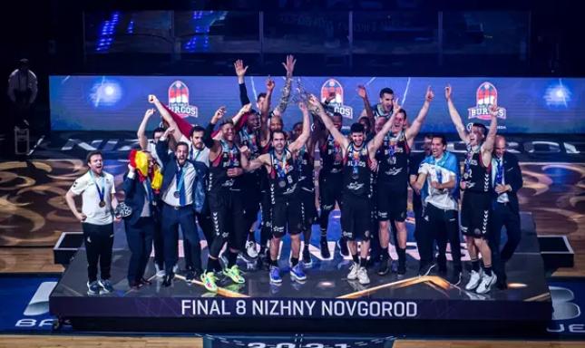 El San Pablo Burgos, una vez más campeón de Europa