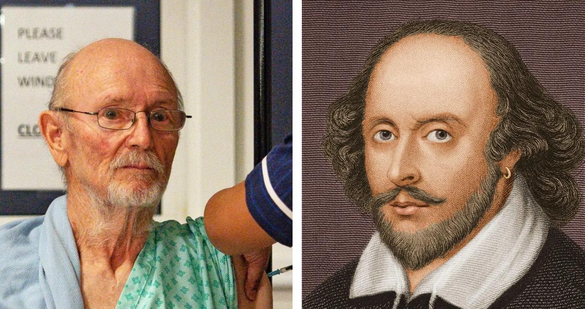 Fallece William Shakespeare, el primer hombre vacunado contra el coronavirus en todo el mundo