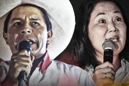 Perú: feroz duelo entre el izquierdista Castillo y la derechista Fujimori a una semana de las elecciones
