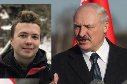 El tirano de Bielorrusia fuerza el aterrizaje de un avión comercial para atrapar a un periodista opositor