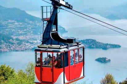 El desplome de un teleférico en Italia deja 14 muertos y un niño herido grave