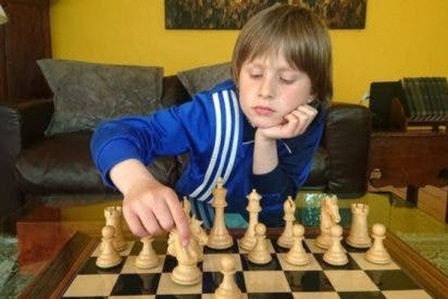Frederick Waldhausen Gordon, el niño que derrotó a un gran maestro de ajedrez pero no lo contó en la escuela
