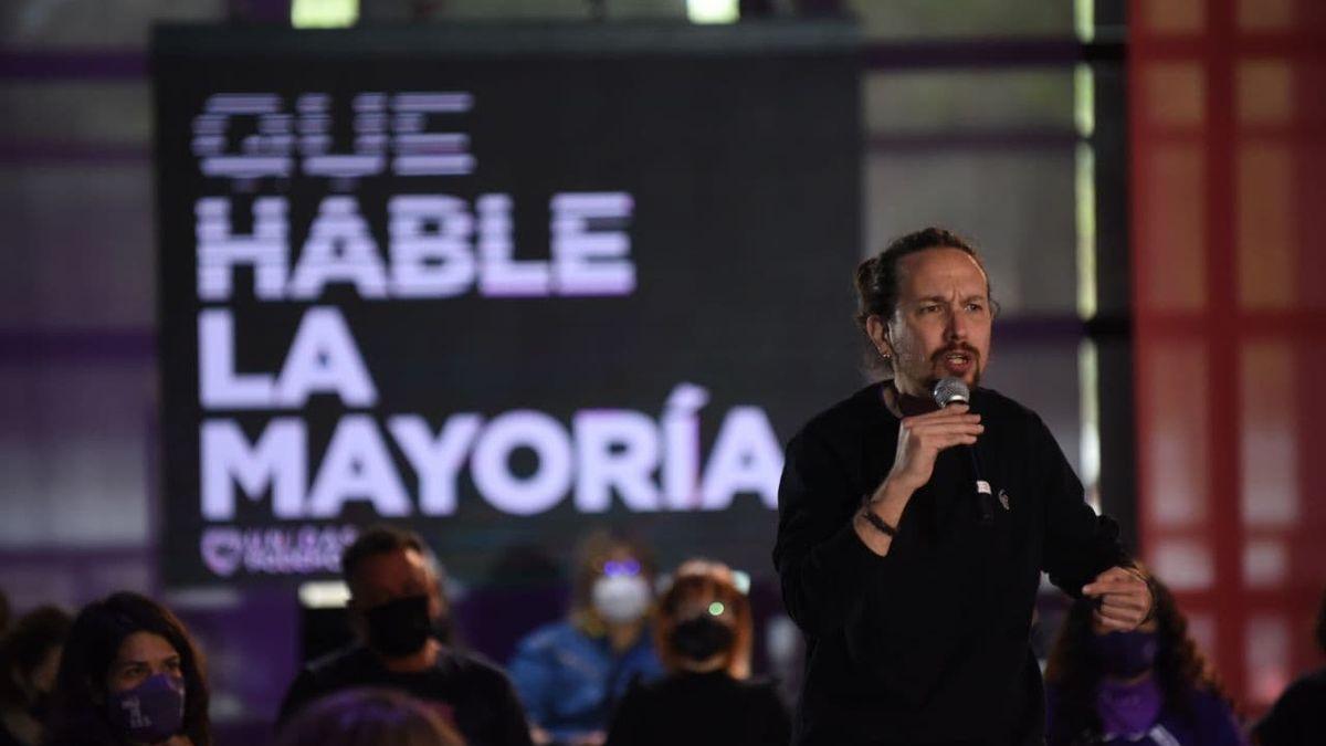 ¡La mayoría sigue hablando, Iglesias! El 70% de los españoles apoya el adiós a la política del líder de Podemos