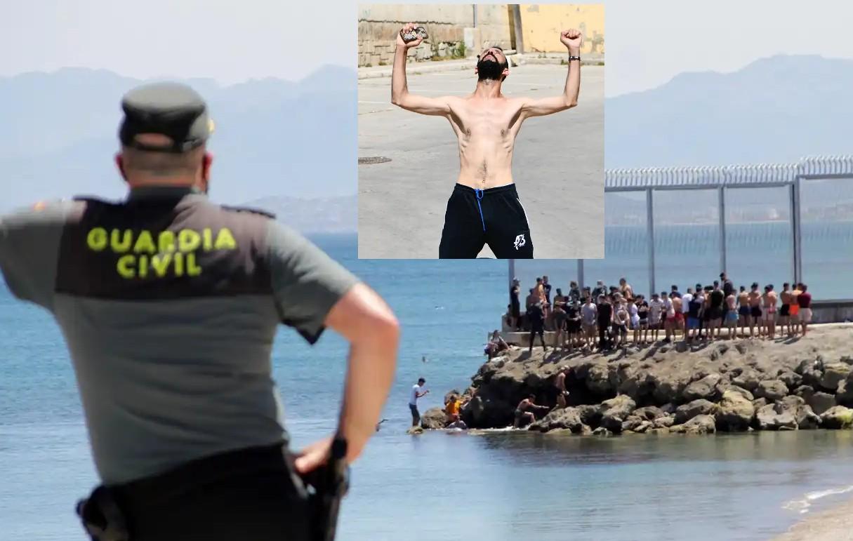 El rey de Marruecos se harta de Sánchez y provoca una avalancha de 5.000 inmigrantes en Ceuta