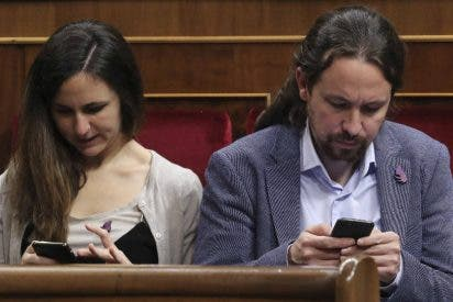 ¡Se ató la coleta!: Ione Belarra imita a Pablo Iglesias y 'enchufa' a su novio en Podemos