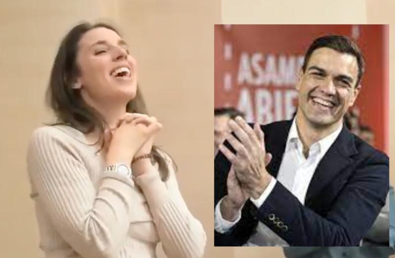 El impuesto por circular por autovía, que nos casca Sánchez, equivale a lo que gasta en chorradas Irene Montero