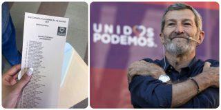 """El gafe del podemita Julio Rodríguez desata el cachondeo en las redes: """"¡Que alguien le abrace!"""""""