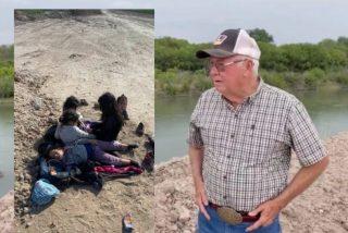 Este granjero encuentra a cinco niñas migrantes abandonadas y hambrientas en sus tierras de Texas