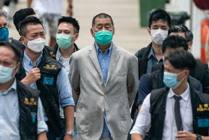 La polémica condena de China contra el magnate de medios Jimmy Lai y activistas prodemocracia de Hong Kong