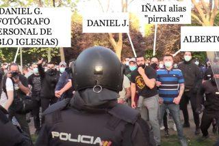 Estos son los 'matones' a sueldo de Podemos, que Iglesias envió a atacar el mitin de VOX y Marlaska esconde