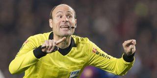 Mateu Lahoz será el arbitro de la 'final británica' de Champions League