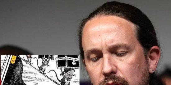 La roedora viñeta de Pablo Iglesias y el Gobierno que denuncia a la Justicia el exlíder de Podemos