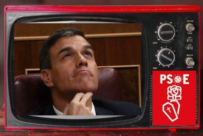 Pedro Sánchez va de culo, cuesta abajo y sin frenos... a pesar de los millones en propaganda