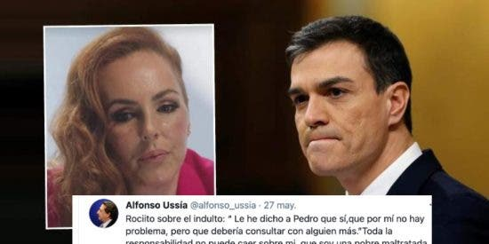 El sabio consejo de Rociito a Pedro Sánchez, a propósito del indulto a los golpistas catalanes