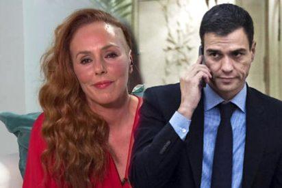 Moncloa presiona a los periodistas para que no filtren la conversación de Pedro Sánchez y Rocío Carrasco