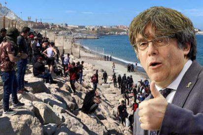 """Puigdemont sufre un nuevo delirio independentista y exige la soberanía de Ceuta y Melilla: """"Son africanas"""""""