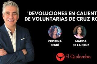 El Quilombo: 'Devoluciones en caliente' de la Cruz Roja