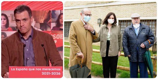 El revanchista Sánchez expulsa del PSOE a Leguina y a Redondo por hacerse una foto con Ayuso antes del 4-M