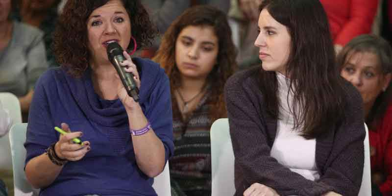 Una diputada de Podemos borra un tuit en el que insultaba a los varones blancos y heterosexuales