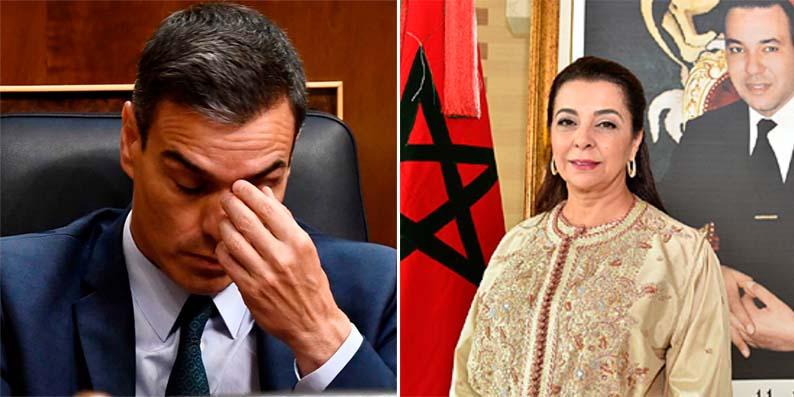 """La embajadora de Marruecos desafía a Sánchez tras la 'invasión' marroquí a Ceuta: """"Hay actos que tienen consecuencias"""""""