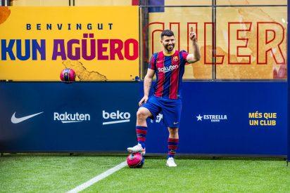 Sergio 'Kun' Agüero ficha por el FC Barcelona y será el compañero de Messi hasta 2023