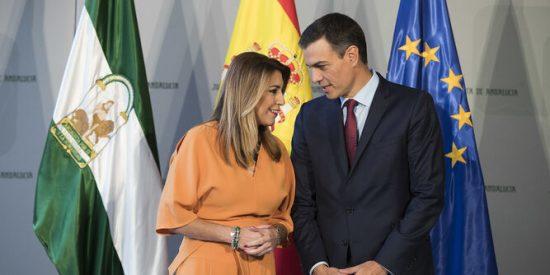 Susana Díaz puede precipitar la caída política de Pedro Sánchez