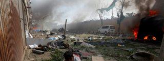 Afganistán: 14 muertos en un atentado con coche bomba, un día antes del inicio de la retirada de tropas de EEUU