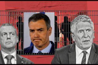 El socialista Sánchez cede las cárceles al PNV seis días después de la debacle del 4-M en Madrid