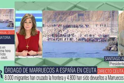 Tensión en Telecinco: cortan un directo de Abascal con Ana Rosa Quintana y su respuesta es muy dura