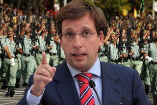 Almeida encargará a la Legión la 'monumental protección' del Palacio Real
