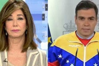 """Ana Rosa Quintana despluma al """"esfumado"""" Sánchez: """"Ha pasado de los monólogos del aló presidente al chitón presidente"""""""