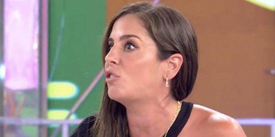 """Anabel Pantoja vuelve a liarla parda en 'Sálvame': """"¡Se te derraman las tetas! ¡Se te ve un pezón!"""""""