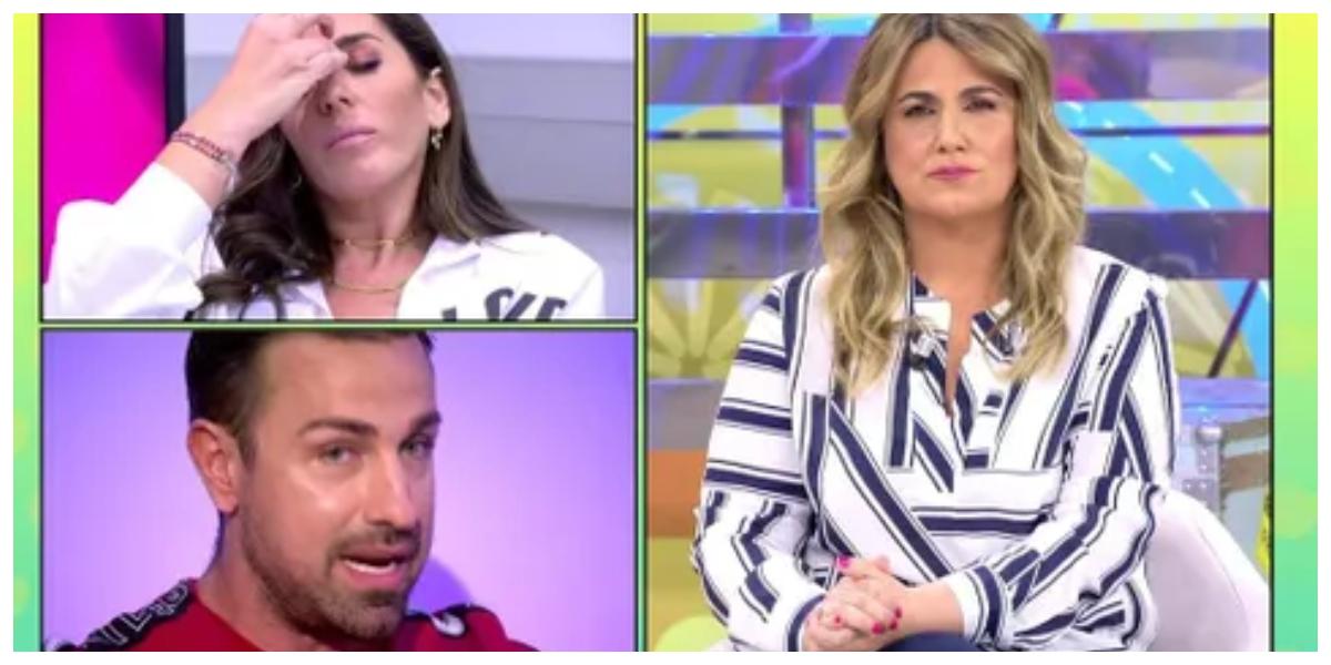 "Rafa Mora, con un pie fuera de 'Sálvame' tras un enfrentamiento con Carlota Corredera: ""No me tomes por tonta"""