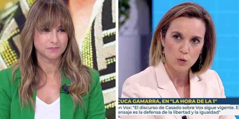Cuca Gamarra (PP) retrata a Pardo de Vera (TVE) por jalear el acercamiento de etarras acordado por Sánchez y Bildu