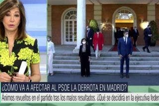 """Ana Rosa: """"Llaman tabernarios a los votantes y olvidan que el PSOE se fundó en una taberna"""""""