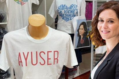 La 'Ayushop', la tienda de moda inspirada en Díaz Ayuso que desquicia a la izquierda en Madrid