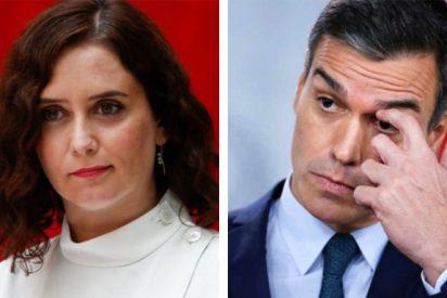 El vídeo que crispa a los 'progres': Los madrileños pasan de aplaudir a Díaz Ayuso a abuchear a Sánchez