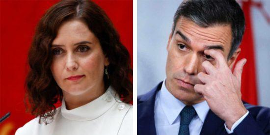 """Díaz Ayuso se burla de Sánchez por su 'paseo' con Biden: """"La cumbre de los 26 pasos"""""""