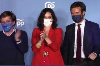 4-M: Díaz Ayuso aplasta a Sánchez en Madrid con 65 diputados