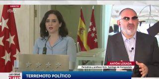 """El tronchante vídeo del 'futurólogo' Antón Losada: """"La mejor encuesta le da a Ayuso 2-3 escaños más que el PSOE"""""""
