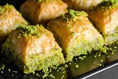 Baklava de pistacho