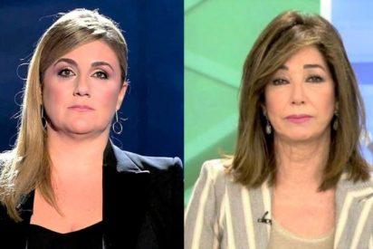 """Carlota Corredera ataca en directo a Ana Rosa Quintana y se la pega: """"¿no denuncias la violación en GH?"""""""