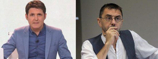Monedero se inquieta y sermonea a Cintora (TVE) por preguntarle por el 'trasquile' de Iglesias