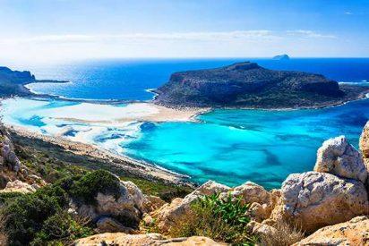 Una cadena de fuertes terremotos creó la costa fósil de Creta