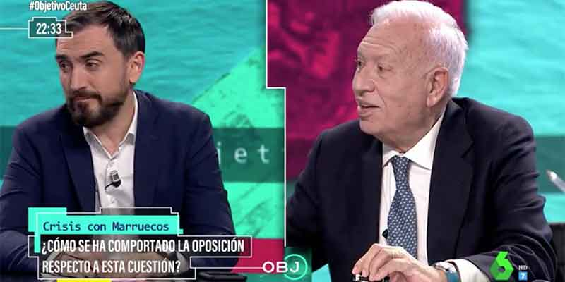 Ana Pastor (laSexta) corta a García-Margallo para que no dé un merecido escarmiento a Ignacio Escolar