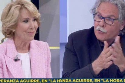 """Esperanza Aguirre noquea a Joan Tardá por sacar la corrupción: """"¿Y qué hay del 3% en Cataluña?"""""""
