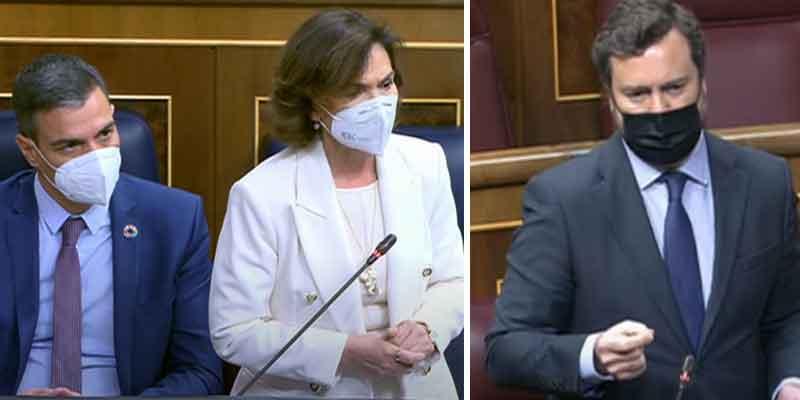 """Espinosa de los Monteros (VOX), a saco contra el Gobierno: """"Váyanse cuanto antes, dejen de hacer daño a España"""""""