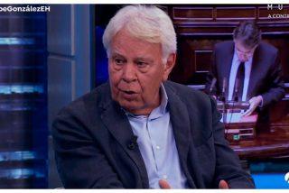 """Felipe González desautoriza a Pedro Sánchez: """"No concedería el indulto a los golpistas"""""""