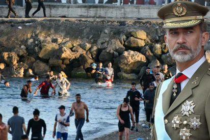 "Felipe VI advierte a Marruecos por la 'invasión' de Ceuta: ""España es Europa"""
